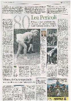 80 anni Lea Pericoli - Corriere della Sera