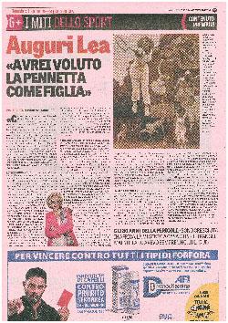 80 anni Lea Pericoli - Gazzetta