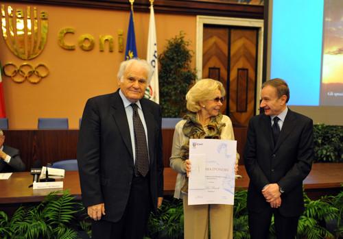 Lea Pericoli premio concorsi letterari CONI